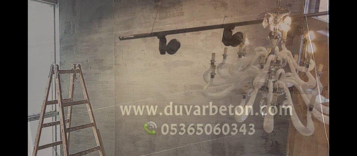 100 Farklı beton duvar dekorasyon görseli - duvarbeton.com