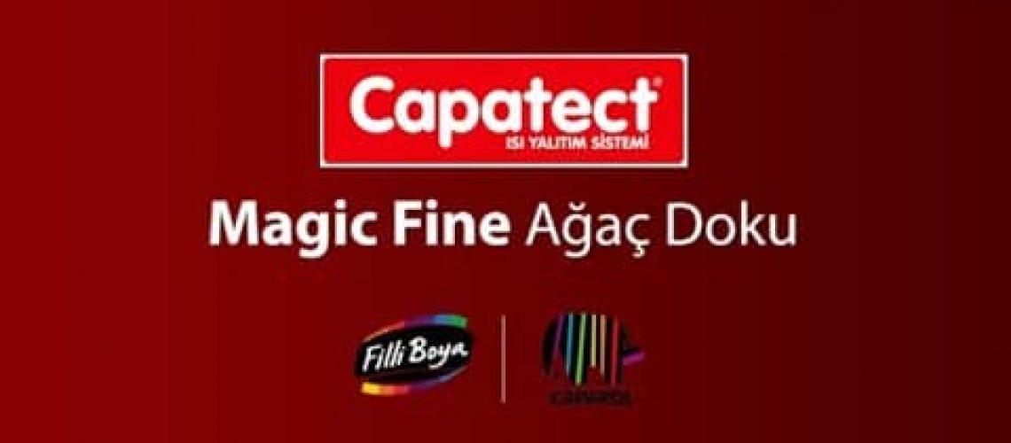Capatect Magic Fine Ağaç Doku