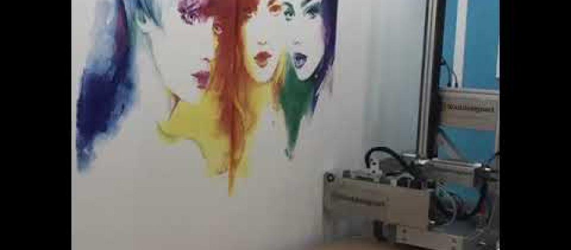 Duvar Yazıcısı   Duvar Boyama Yazıcısı   Duvar Baskı Makinesi