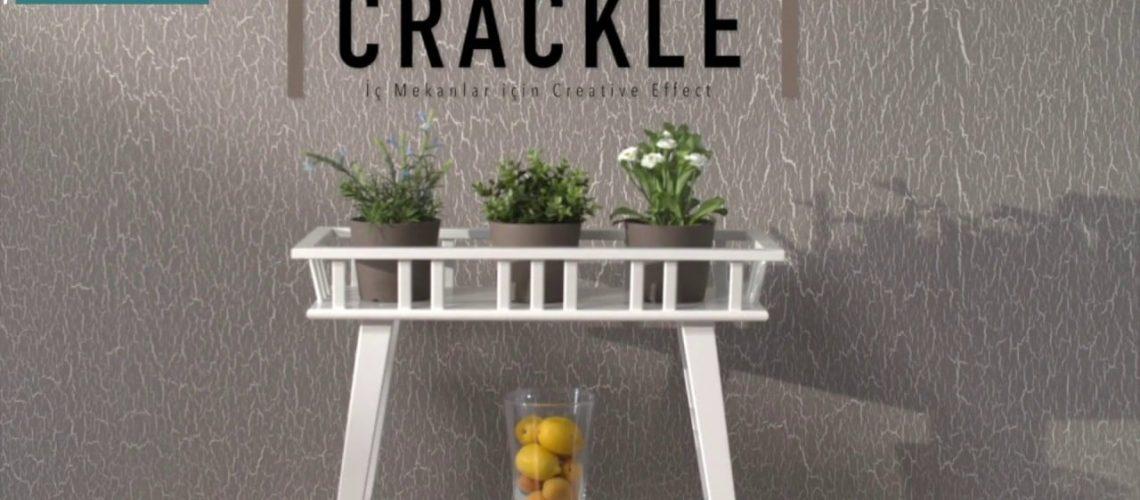 Alligator Crackle - Çatlatma Boya Uygulaması