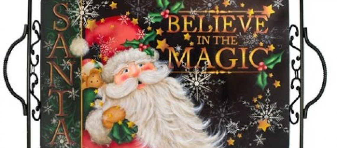 Believe In The Magic Tole and Decorative Painting by Patricia