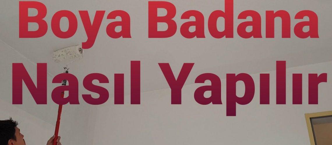 Boya Badana Nasıl Yapılır/Boya Badana/Ev Boyama/Kendi Evini Kendin Boya/Boyacı/Badana Boya