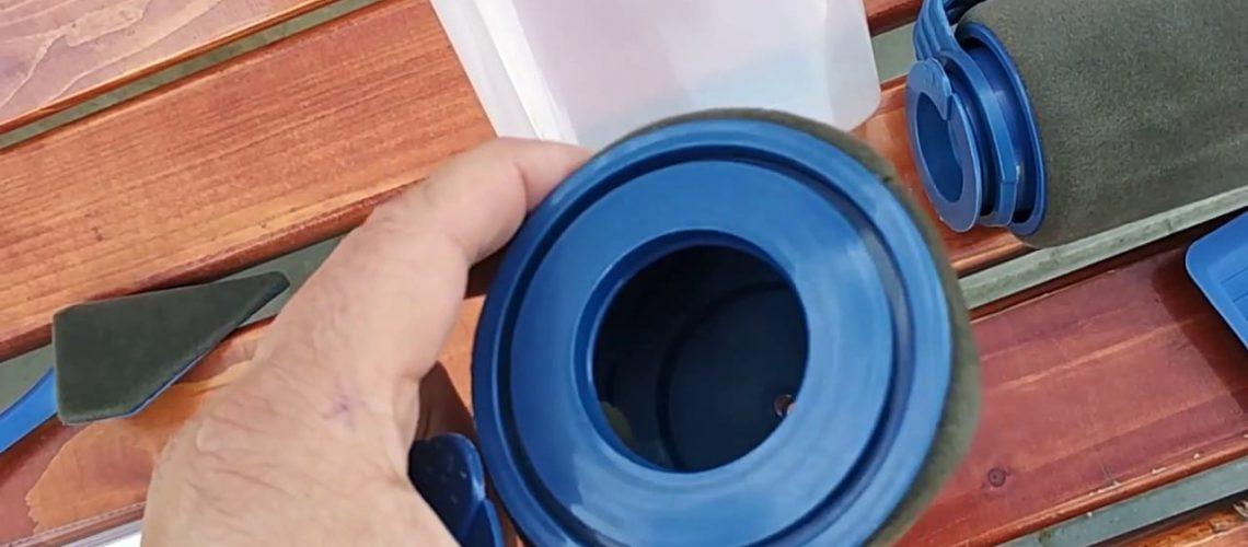 DIY Multifunction Handle Tool Paint Roller Brush Set
