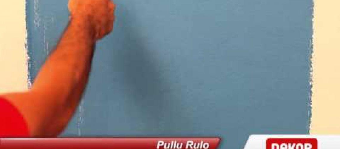 Dekor Pullu Rulo