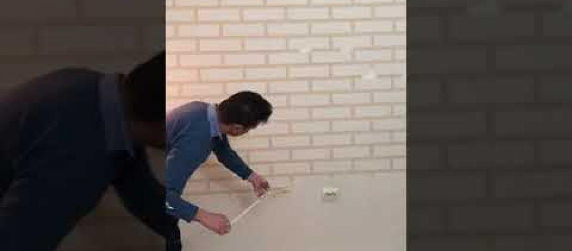 Dekor duvar tuğla görünümü