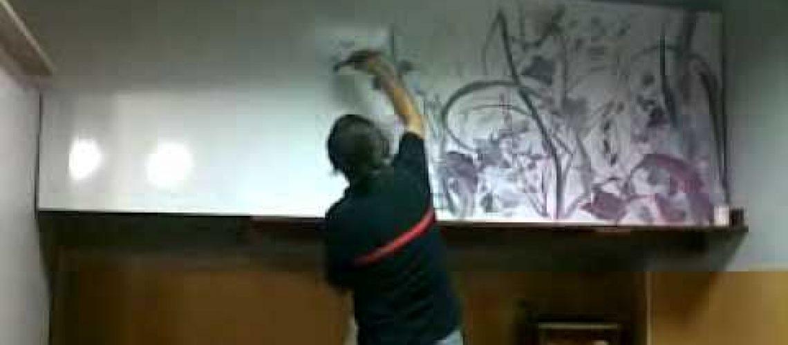 Dekorasyonda Yağlı boya Çalışması