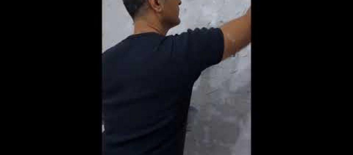 Dekoratif Tv Duvar Çalışması. #decor #evdeboya #dekor #boyanasılyapılır #boya #sedef