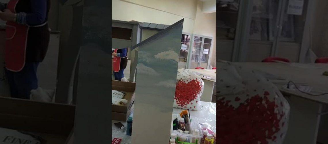 Dekoratif boyama teknikleri: ağaç çizimi