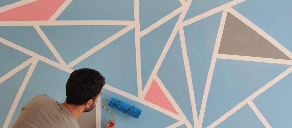 Ev Decor Fikri! Mekanınıza Renk Katacak Etkileyici Bir Çalışma! Do
