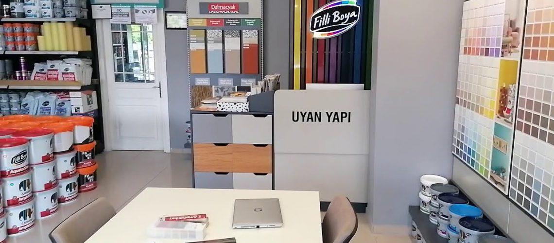 Filli Boya YNB Yeni Nesil Bayi Mağaza Konsept Görseli 3