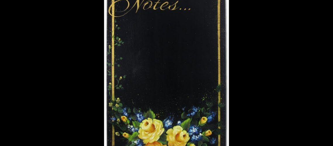 Fresh Yellow Roses Tole and Decorative Painting by Patricia Rawlinson
