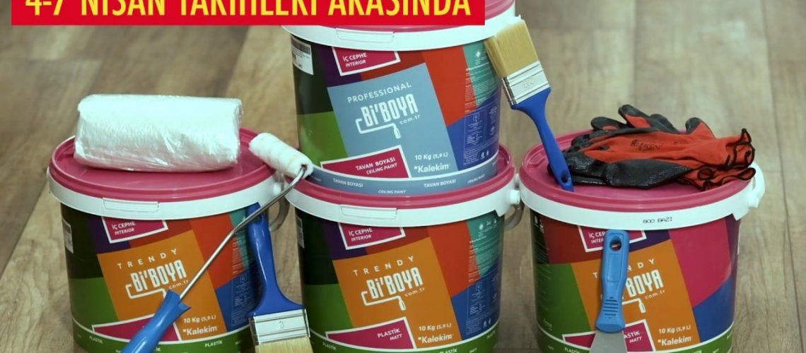 Kabarmaz çatlamaz boya ürünleri ŞOK'ta #ŞOKUcuz.