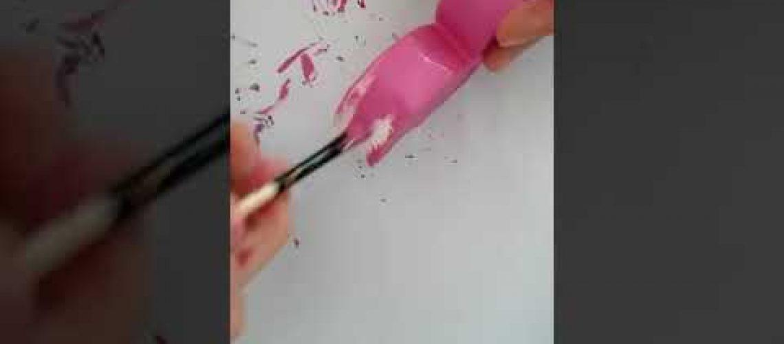 Kokulu taş boyama #1 Flamingo desenli kokulu taş boyama