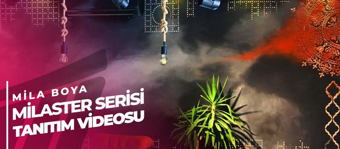 Mila Boya ''Milaster'' Serisi Dekoratif Boya Tanıtım Videosu