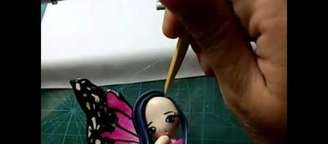 Polymer Clay Decorative painting