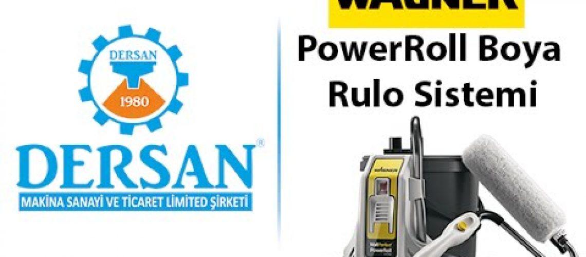 PowerRoll Boya Rulo Sistemi Reklamı