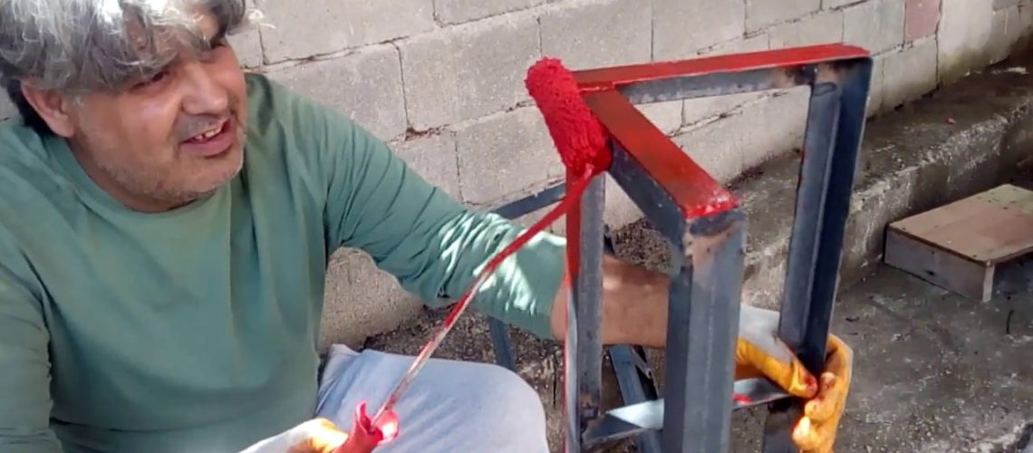 Şeritçi CŞ demir boyama sanatı