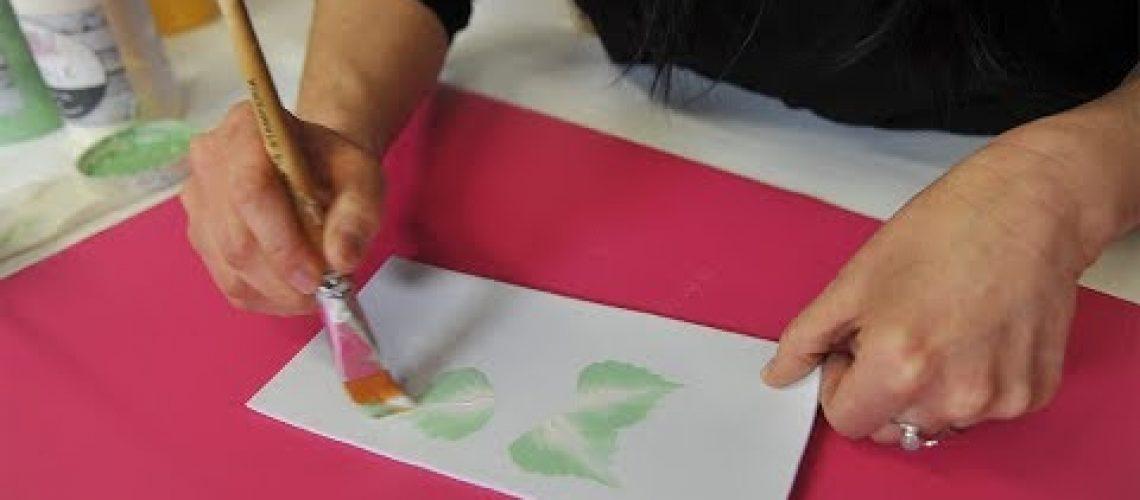 VIDEO Fiorellino in Decorative Painting con le pitture Chalk con